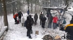 Výstup na Mikušovské skalice 25.1.2015