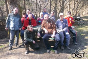 Brigáda v Košeckej doline 21.3.2015