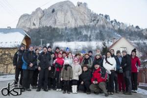 Výstup na Mikušovské skalice 26.1.2014